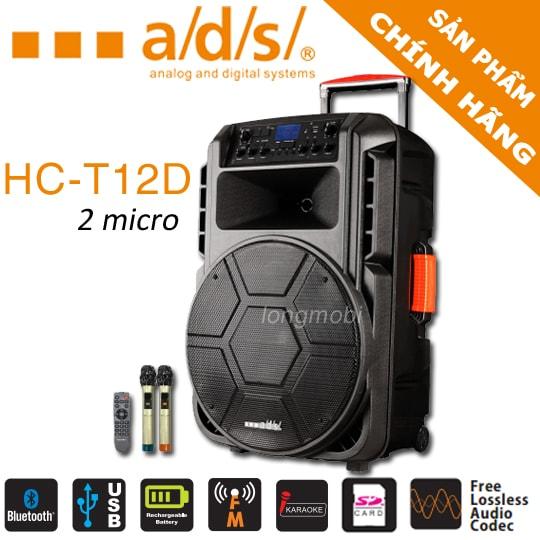 loa hat karaoke di dong ads hc t12d