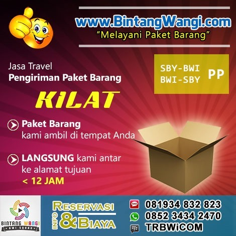 Jasa Kirim Paket Barang Surabaya Banyuwangi