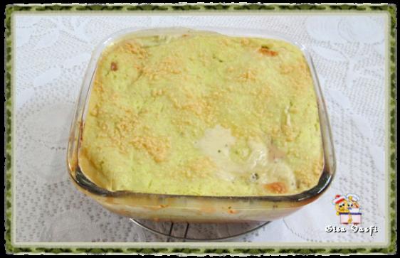 Torta de arroz e requeijão 1