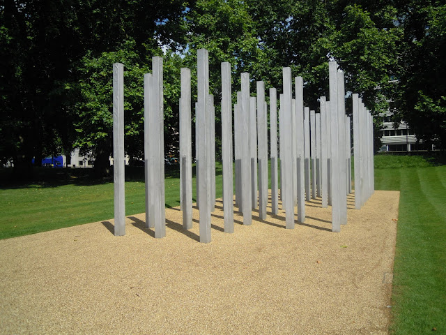 7 July 2005 Bombing Memorial . From Important and Little-Known London Memorials and Statues