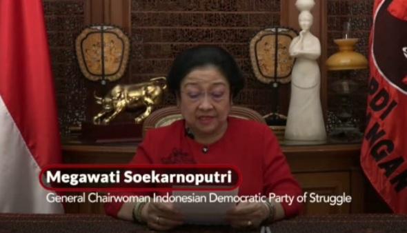 Megawati: Selamat Ulang Tahun, Partai Komunis China!