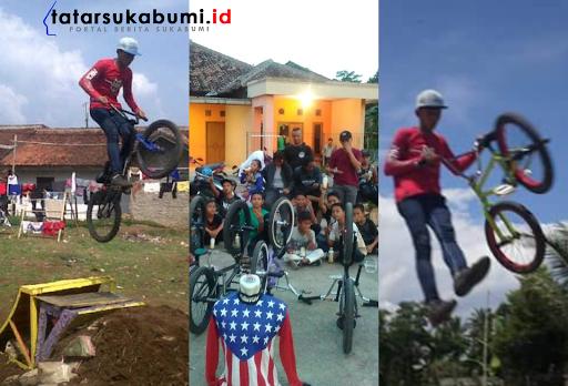 Rider BMX Freestyle Sukabumi Berlaga di Kejuaraan Tingkat Provinsi