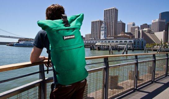 Green Cornucopia Bag