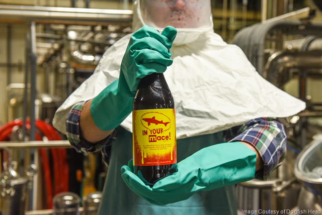 Dogfish Head to Release IN YOUR MACE!