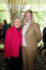 Lindalyn Adams, 2007 TWU Virginia Chandler Dykes Leadership Award Recipient, and Clare Graca