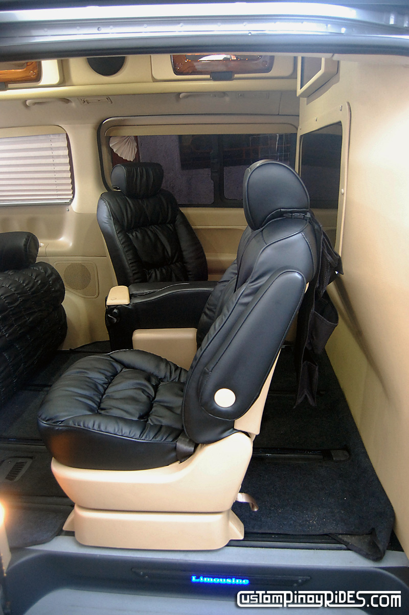 Hyundai Starex Limousine Atoy Customs Conversion Philippines Custom Pinoy Rides pic8
