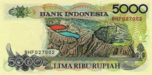 desain cantik pada uang