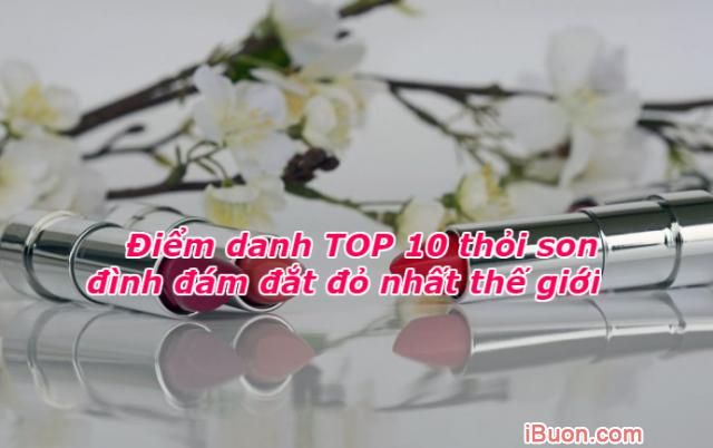 Điểm danh TOP 10 thỏi son đình đám đắt đỏ nhất thế giới + Hình 1