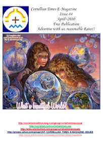 Cover of Correllian Times Emagazine's Book Issue 44 APRIL 2010 What A Beautiful World