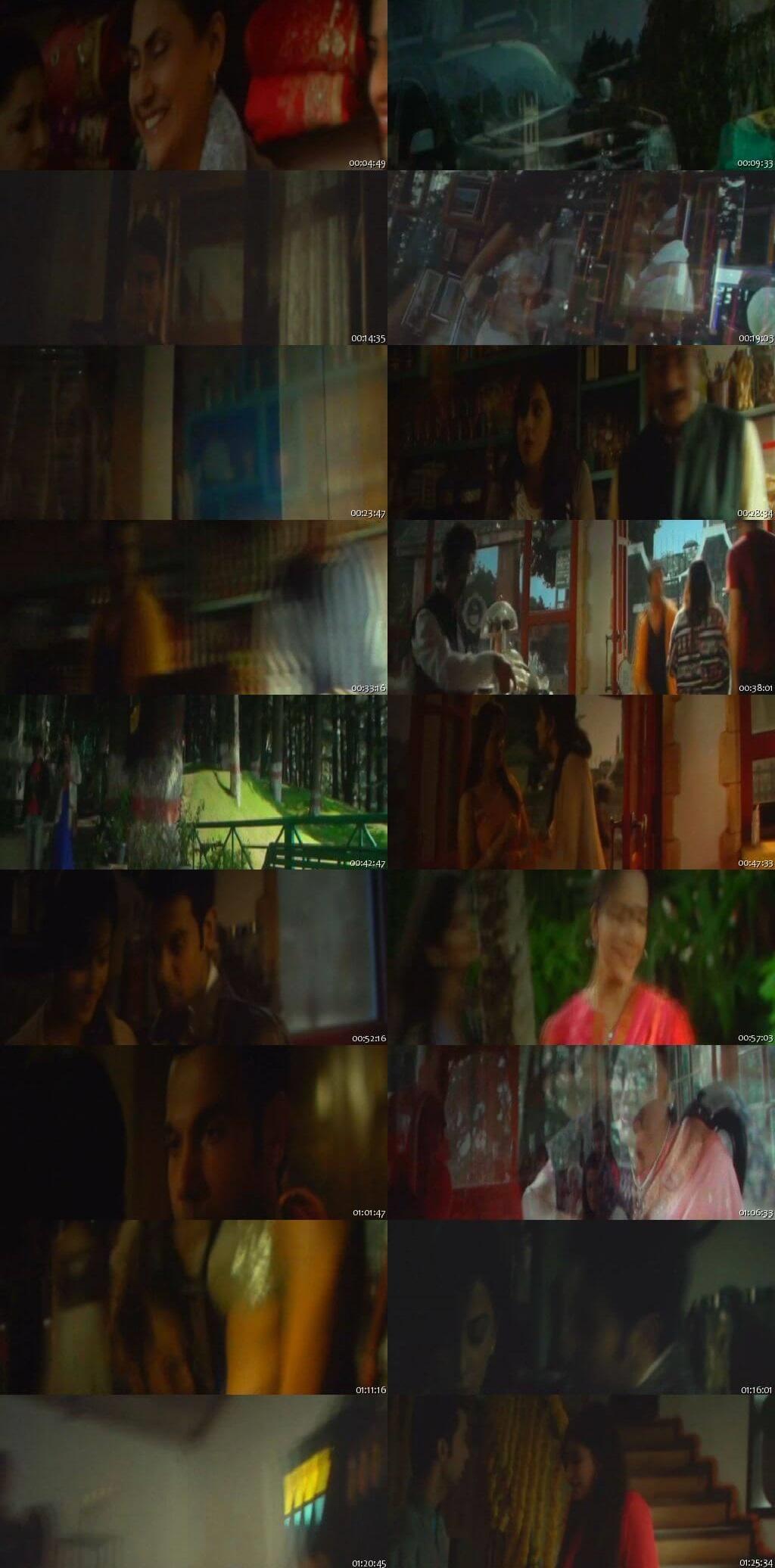 Screen Shot Of Shimla Mirchi 2020 300MB Pdvd Full Hindi Movie Watch Online Free Download