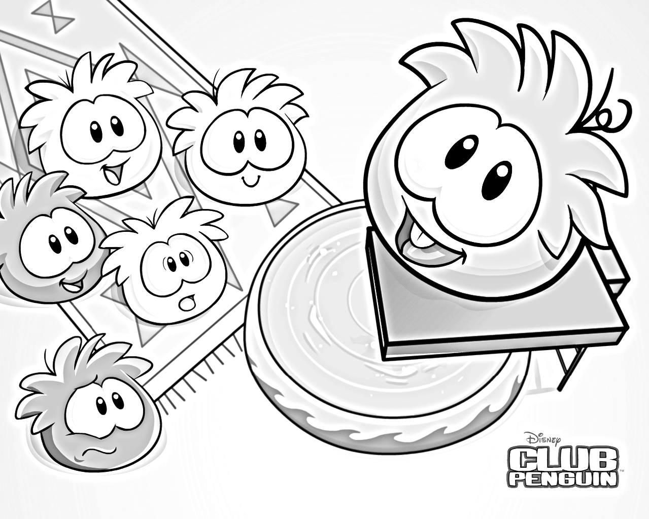 Imagenes de club penguin para colorear e imprimir imagui for Club penguin coloring page