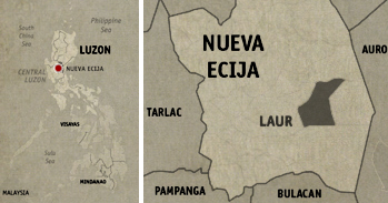 Aquino-Diokno Memorial Location Map