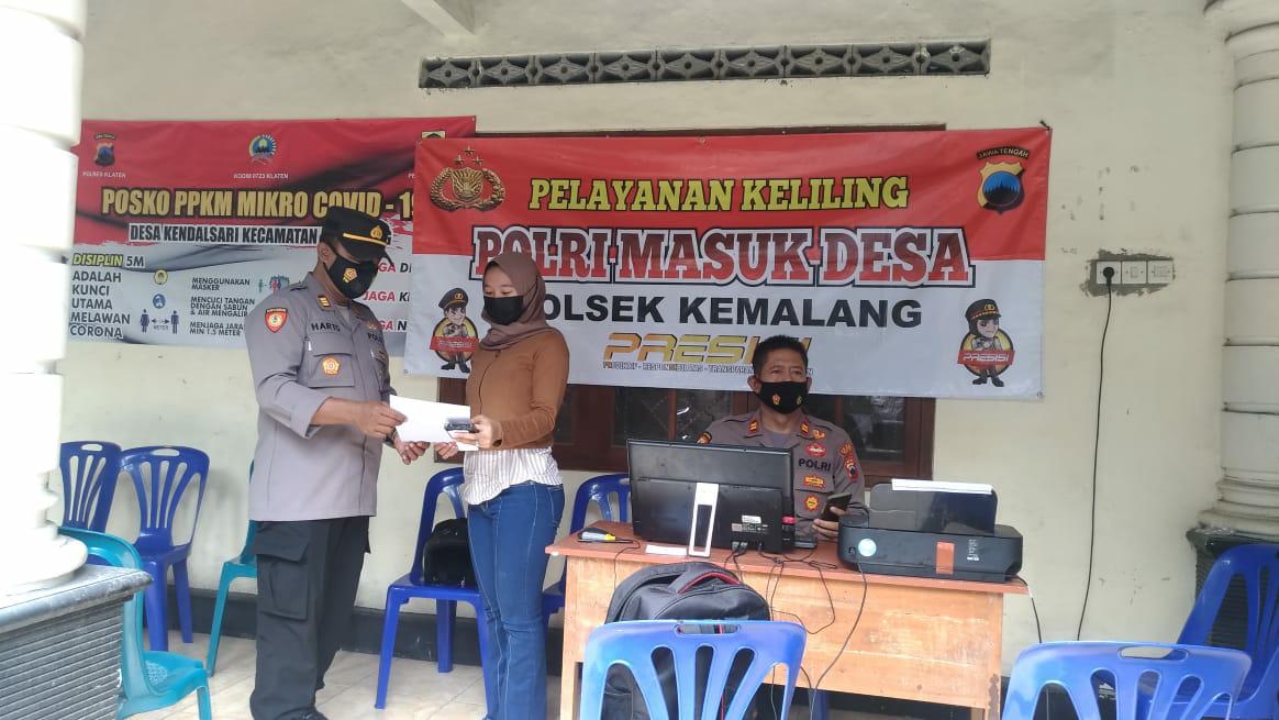 Polres Klaten Gencarkan Program Inovasi Layanan Masyarakat Polisi Masuk Desa