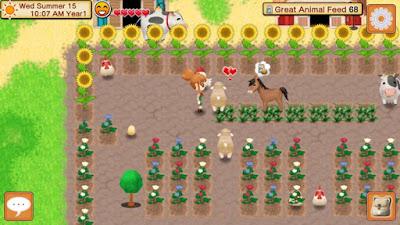 Seeds of Memories belum sepenuhnya rilis disemua perangkat Kontes !! Show Your Harvest Moon: Seeds of Memories Farm