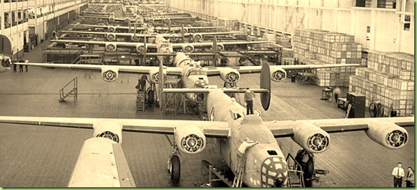DP-Willow-Run-B-24-Bomber-Production