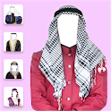 Arab Man Dress Photo Studio icon