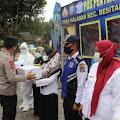 Kapolda Sumut dan Pangdam I/BB Cek Pos Pam Penyekatan III Jalinsum Aceh - Medan