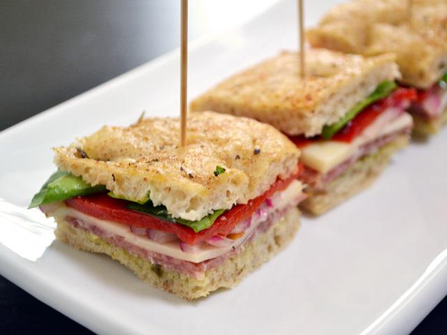 Italian Salami Sandwiches