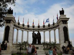 Photo: Simon Bolivar and Jose Martin, los liberadores