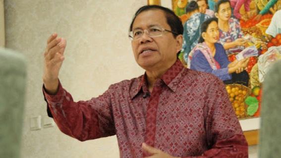 Rizal Ramli: Mural Adalah Pengganti DPR yang Lumpuh