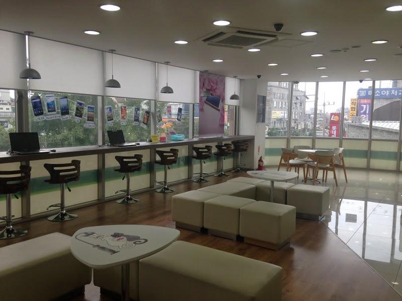 팬택 연신내역 은평점 as센터의 멋진 실내의 모습