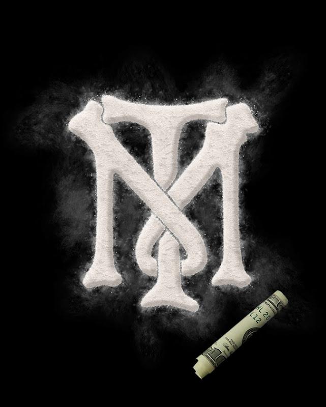 Tony Montana Logo Cocaine Canvas