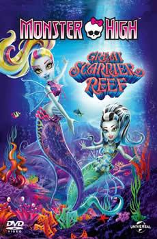 Capa Monster High – A Assustadora Barreira de Coral Torrent