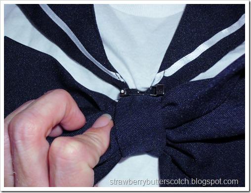 Sailor Moon? No, Just a Uniform: Pin-on Bow