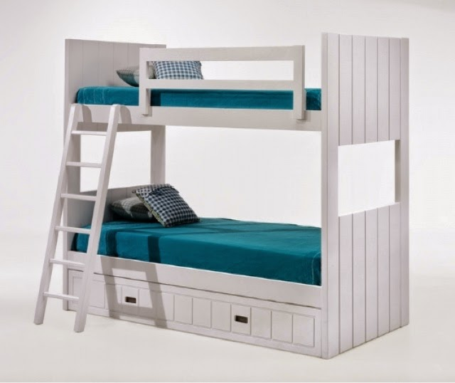 Camas triples amueblar un dormitorio para tres - 3 camas en poco espacio ...