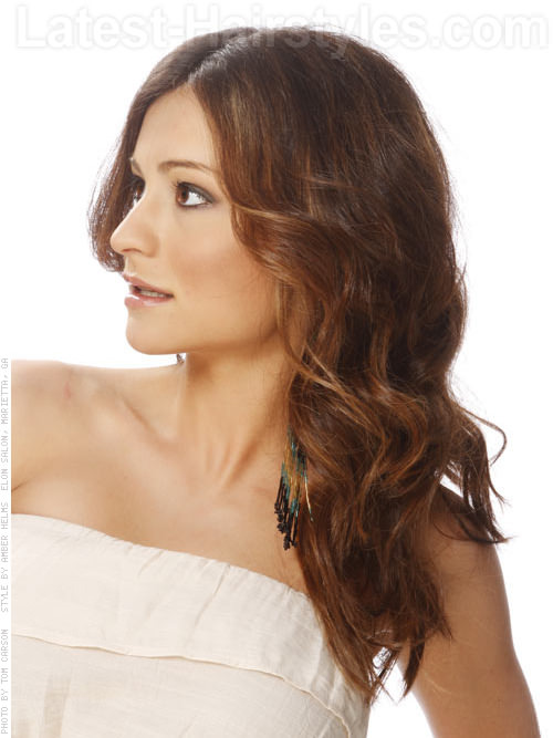 PRETTY HORSETAIL HAIRSTYLES FOR ATTRACTIVE LADY 8