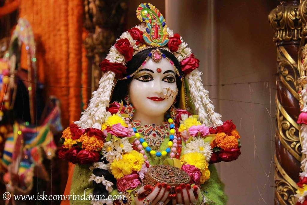 ISKCON Vrindavan Sringar Deity Darshan 18 Dec 2015 (21)