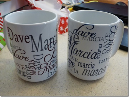 Personalized Couples Coffee Cups