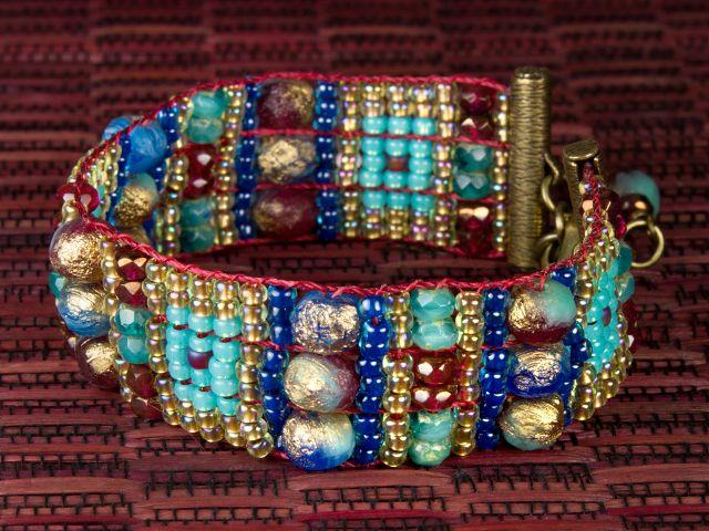 Nefertiti Bracelet by Artbeads.com
