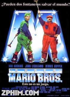 Anh Em Nhà Mario - Super Mario Bros. (1993) Poster