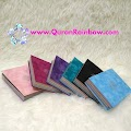 rainbow quran, rainbow colored quran, rainbow quran large size, rainbow colored Quran large size