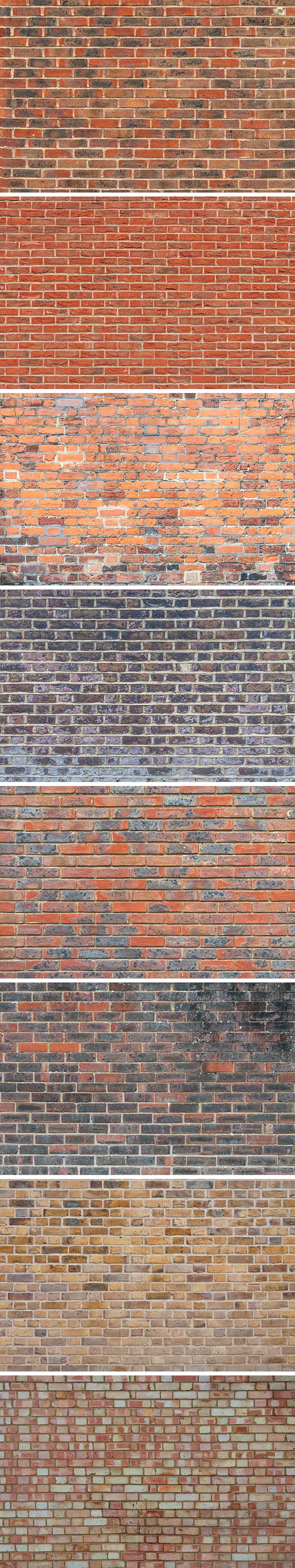 Free 8 Brick Wall Textures