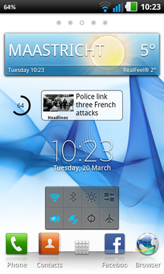 XPERIA S Home Launcher v2.2.A.0.14 rev.7