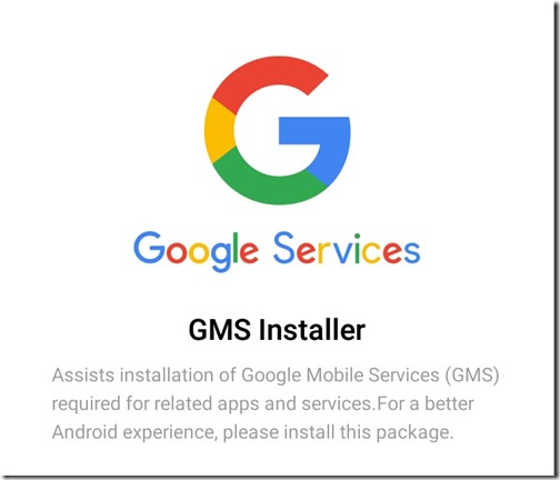 การติดตั้ง Google Play Store ให้กับเครื่อง Android จีน (Xiaomi