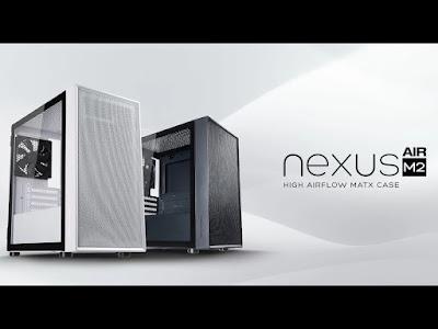 ULASAN: Tecware Nexus Air M2 TG M-ATX Desktop Casing