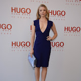 WWW.ENTSIMAGES.COM -   Natalie Dormer   attending  HUGO: RED NEVER FOLLOWS - private view / party of exhibition to celebrate 20th anniversary of Hugo Boss, featuring the brand's RED NEVER FOLLOWS project which saw it collaborate with 20 'urban creatives' from around the world July 30th 2013                                                     Photo Mobis Photos/OIC 0203 174 1069