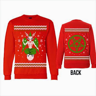 christmas christmassweater satanic satanicchristmassweaters baphomet photo photo photo