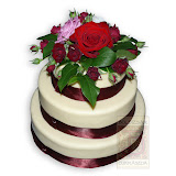 1. kép: Esküvői torták - Esküvői háromszintes torta