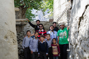 The Young boys who were our guides while visiting Ganish