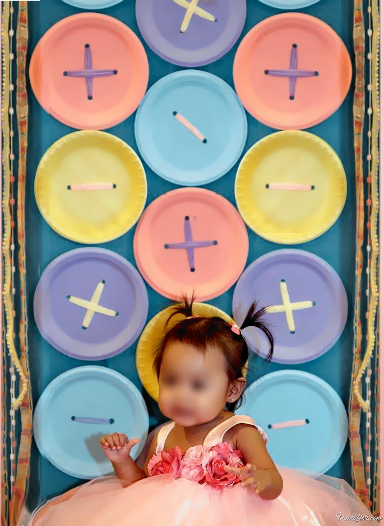 30 ideas para decorar con platos desechables - Decoracion de platos ...