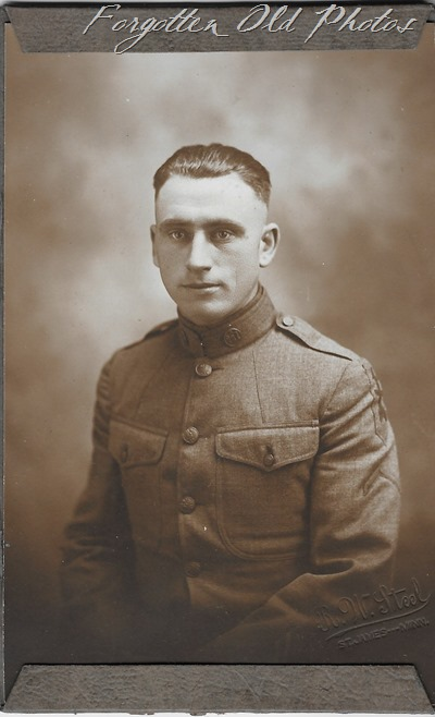 Soldier Crookston ant WW1