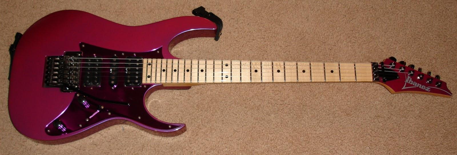 Ibanez EDGE II Floyd Rose Tremolo Bridge Original Black String Saddle