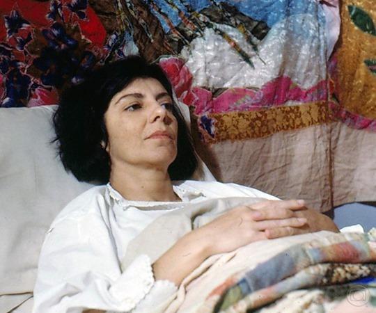 Marilia Pera em Top Model 1989 Nelson di Rago TV Globo