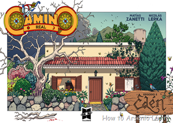 Actualización 11/07/2017: Matias nos trae el numero 2 de su comic Camino Real.