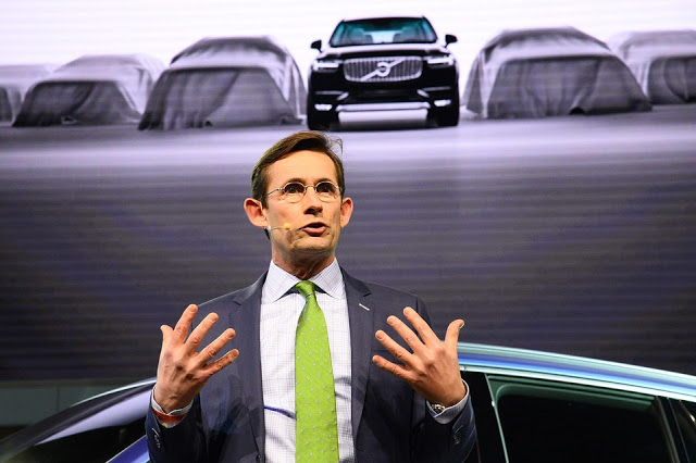 LEX KERSSEMAKERS, VOLVO CEO