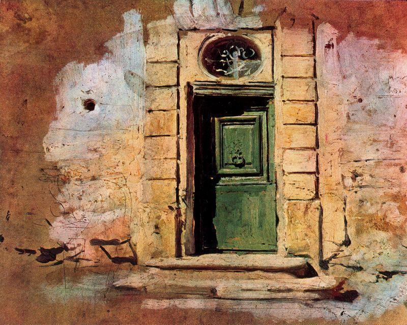 Giovanni Boldini - Porticina a Montmartre